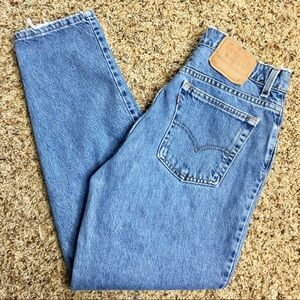 Vintage Levi's Mom Jeans High Rise size: 13 short